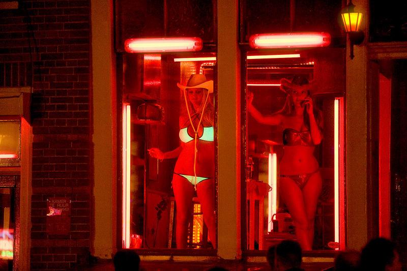 этот порно из квартала красных фонарей была