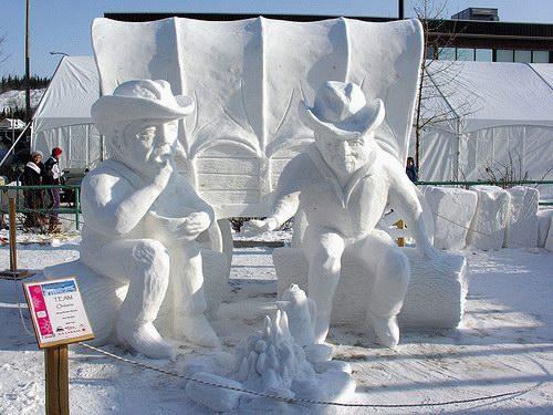 figuras de hielo y nieve :) 1196161234_snowman_21