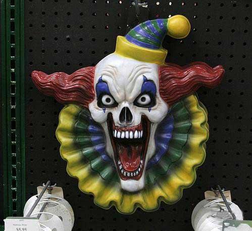 Злые клоуны. На ночь лучше не смотрите :)