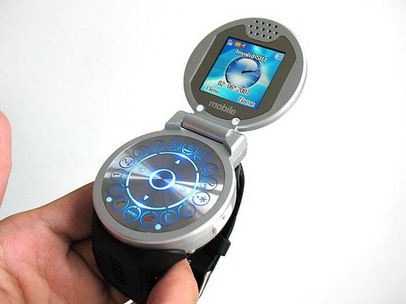 Наручные часы + телефон