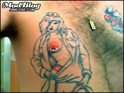Самые безбашеные тату