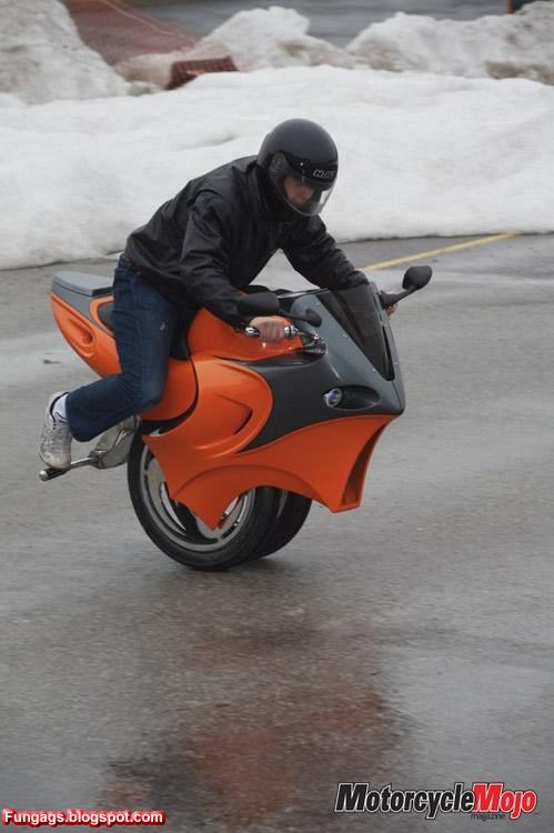Что-то похожее на мотоцикл
