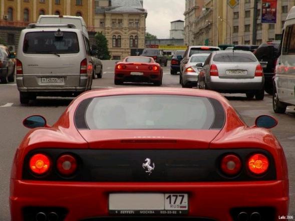 Лучшие машины Москвы