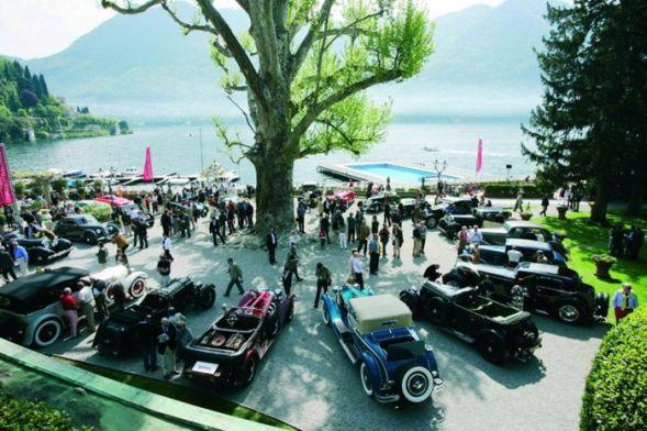 Конкурс автомобильной красоты в Италии