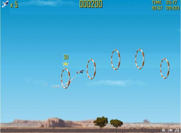 Научись летать на самолете! Кто дальше? :)