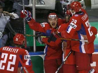 Сборная России выиграла чемпионат мира по хоккею! УРААА!
