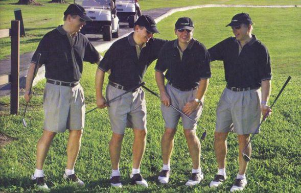 Как можно сходить в туалет на поле для гольфа