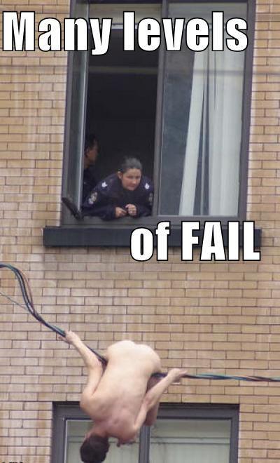 И снова FAIL :)