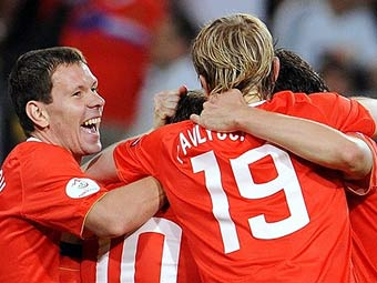Сборная России вышла в четверть финал на ЕВРО 2008! УРА!!!