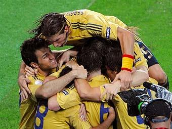 Россия - Испания 0:3 ((