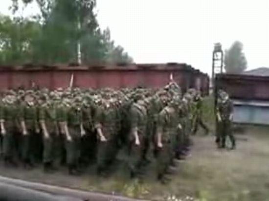 Солдатская песенка