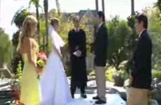 Случай на свадьбе :)