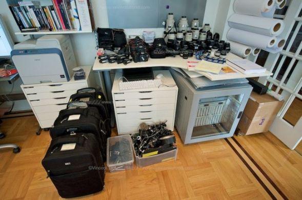Как проф. фотограф Vincent Laforet готовился к съёмке Олимпийских игр в Пекине
