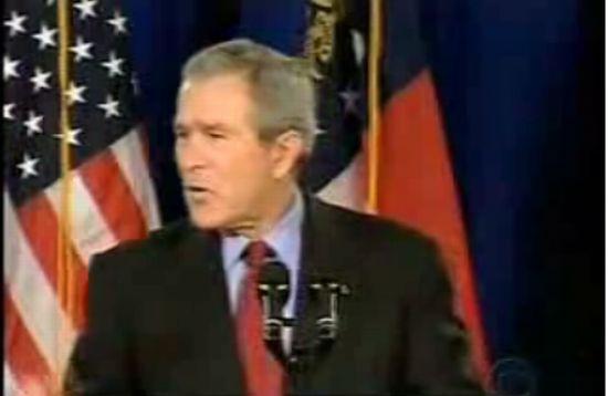 Видеонарезка с Бушем. Посмотрим напоследок...