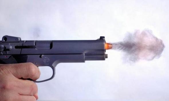 Выстрел снятый высокоскоростной камерой
