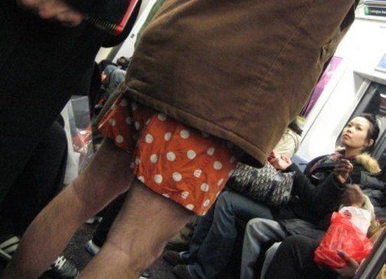 Чего только не увидишь в метро...