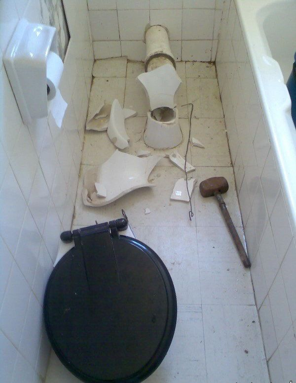 Сюрприз в туалете Индии