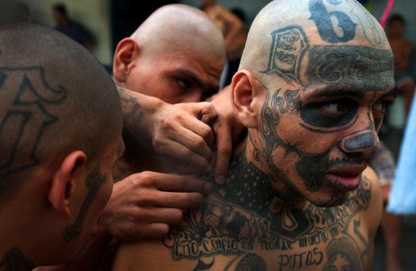 Голова дьявола - одна из самых опасных бандитских группировок