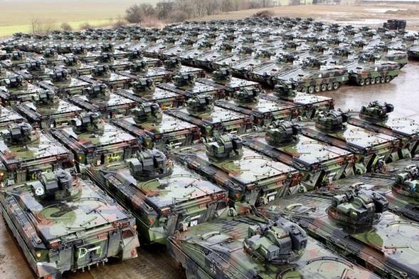 Как утилизируют танки