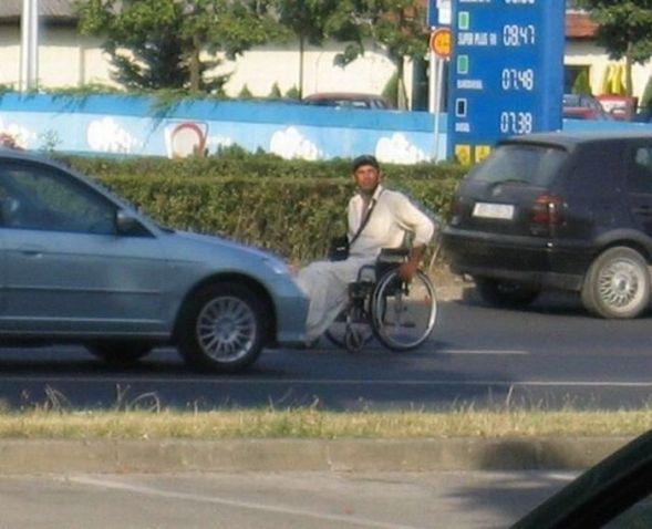 Еще один инвалид