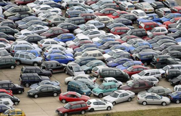 Суровая парковка