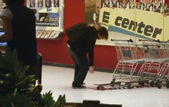 Позитив в супермаркете :)