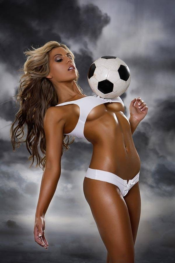 Football girl discovered by orchid