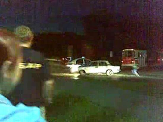 ДПСники избивают водителя