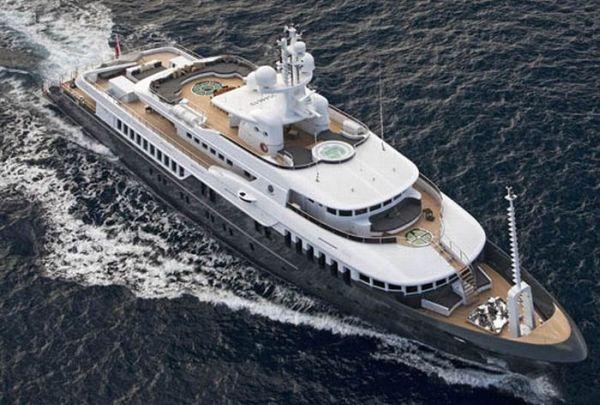 Яхта Sirius для президента Медведева