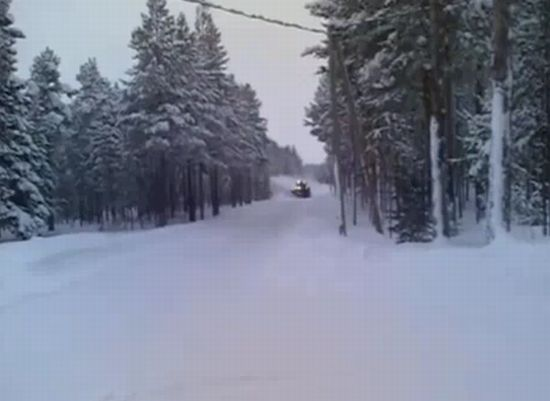 Оперативная уборка снега