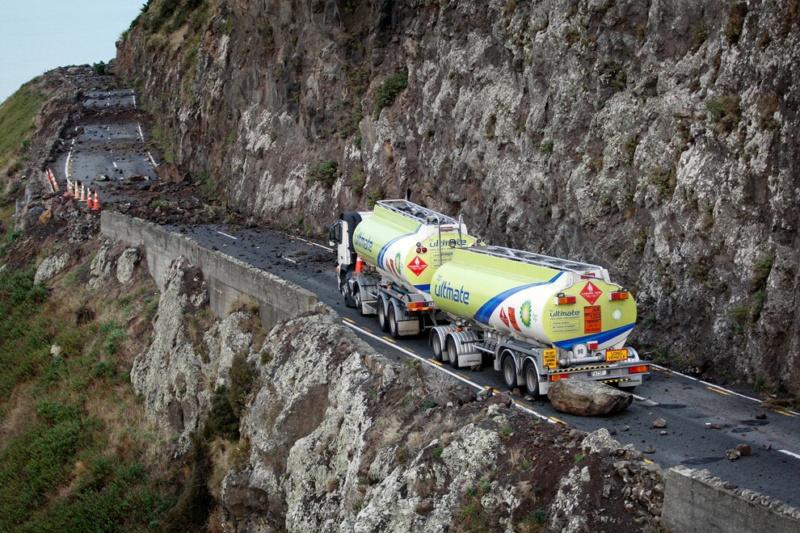 Последствия землетресения в Новой Зеландии
