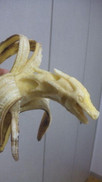 Резьба по бананам :)