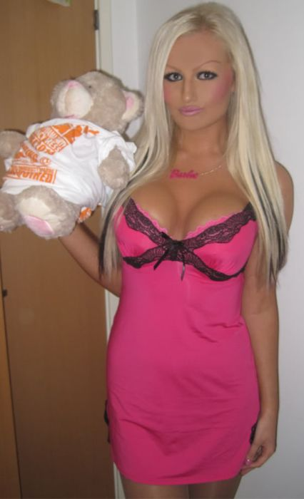 Живые куколки Барби