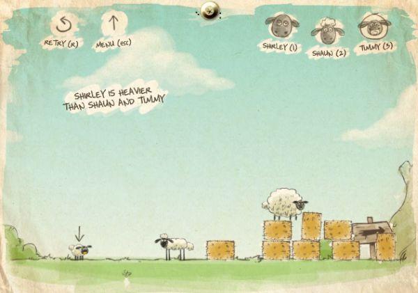 Игра: Семья овечек