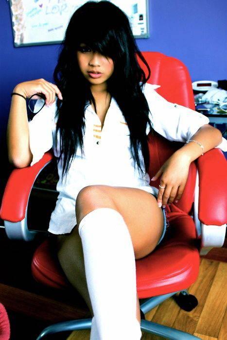Подборка симпатичных азиатских девушек