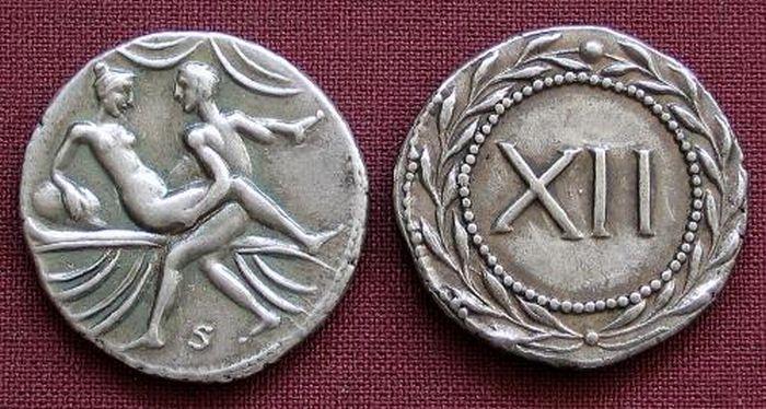 Монеты в древнем Риме