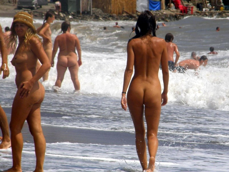 Любительское видео с нудийского пляжа