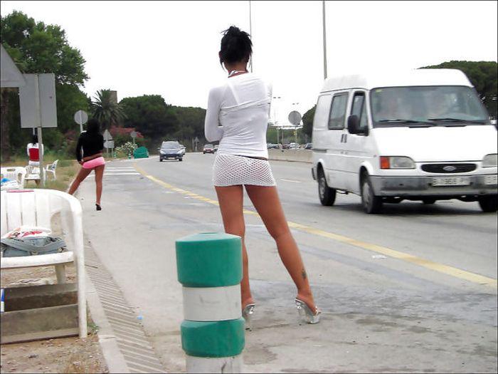 Тюмень придорожных проституток проститутка русалочка
