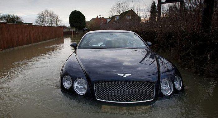Грустная история одного Bentley