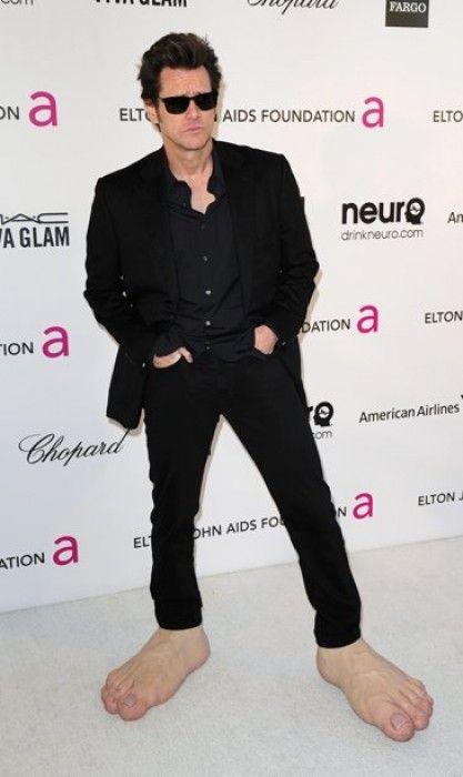 Необычный костюм Джимма Керри на премии Оскар 2013