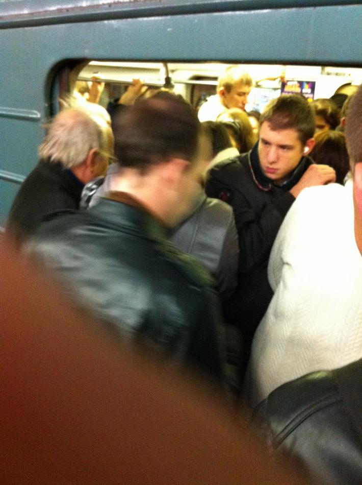 Московское метро - репортаж из ада