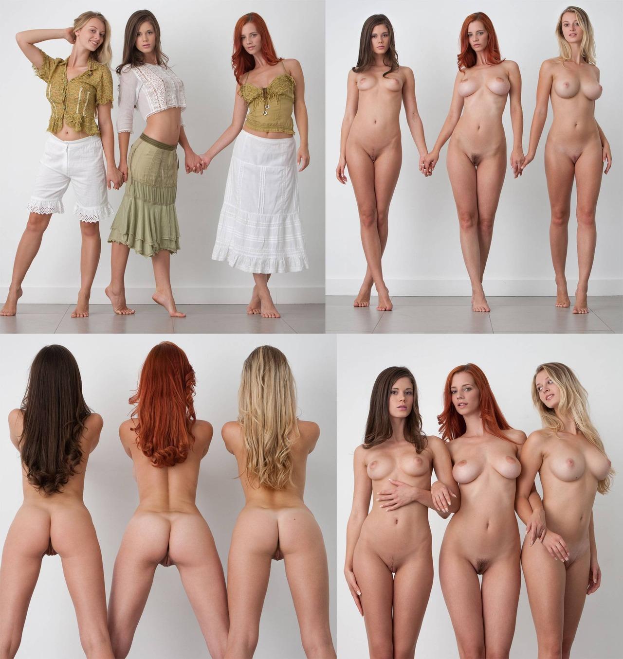 качественное видео девушек без одежды