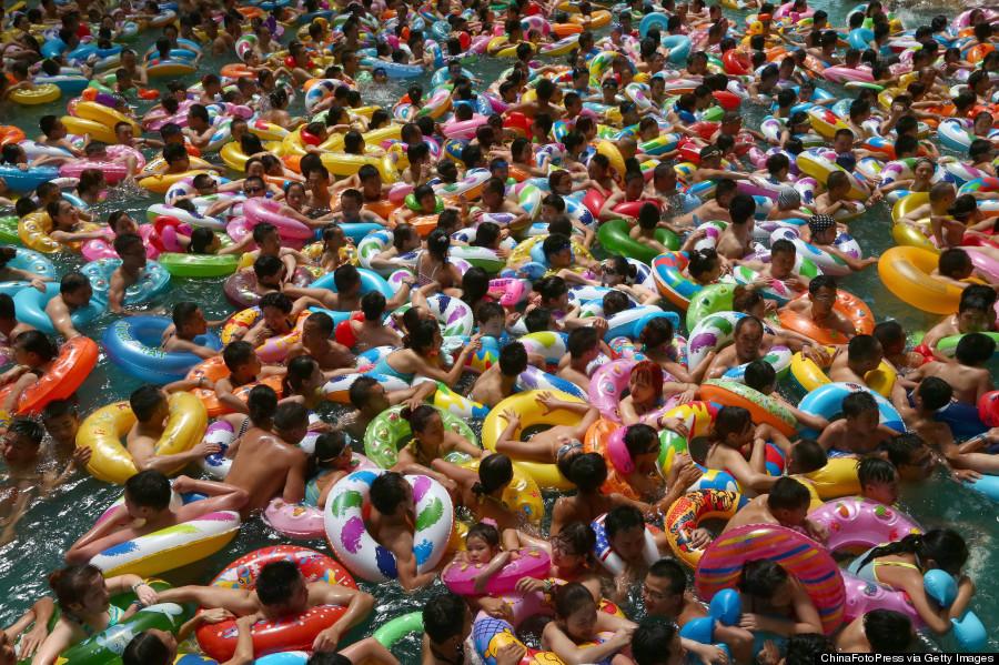 Бассейн в Китае
