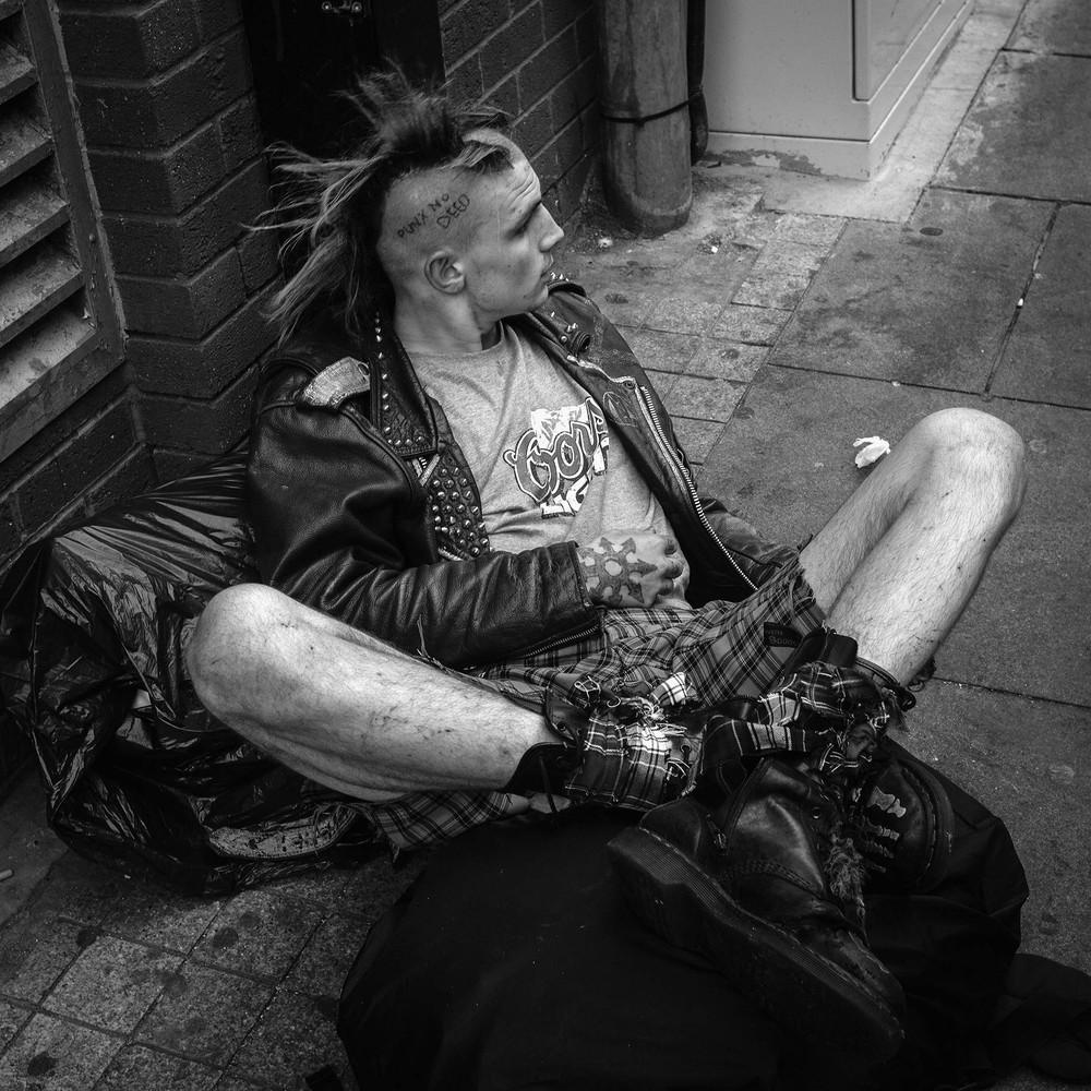 Панк-рок фестиваль в Англии