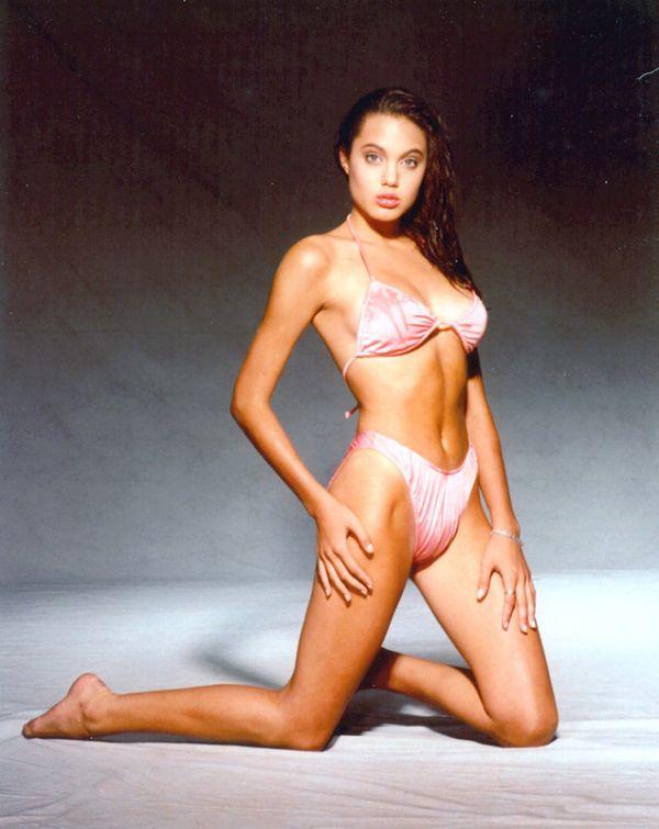 Анджелина Джоли в 14 лет