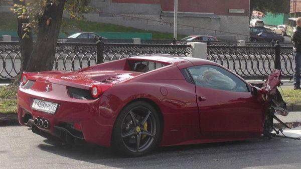 ������ �� Ferrari ���������� ��� ����������