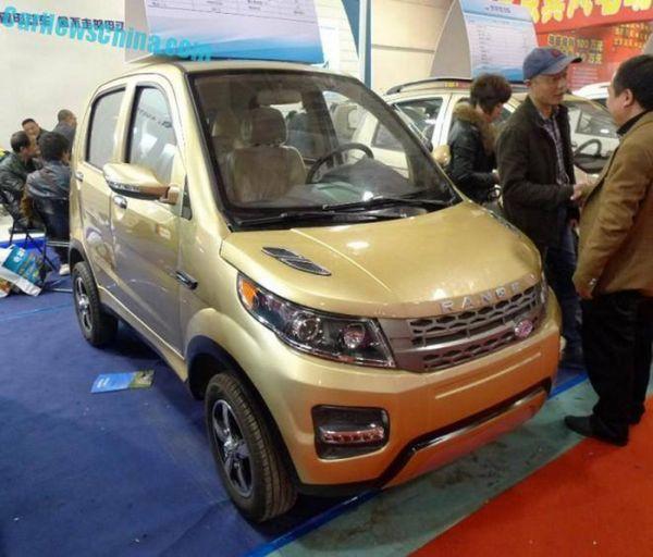 Должностные лица Land Rover, увидев китайский Range Сhevrover впали в отчаяние