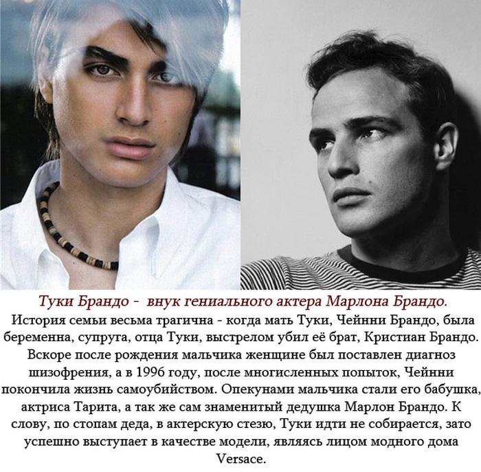 Успехи потомков некоторых знаменитостей