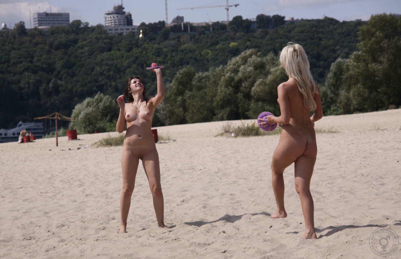Нудистский пляж Киева