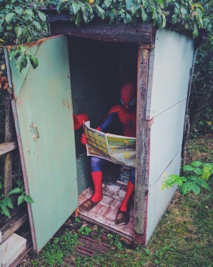 Приключения Человека-паука в России